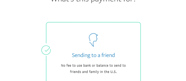 """Friends and Family"" Payments"